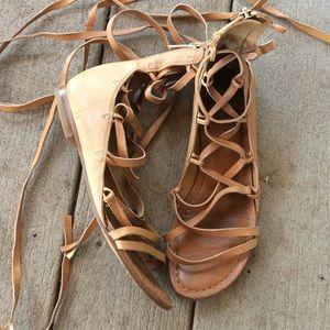 Bella sigerson Morrison lace up gladiator sandal
